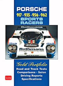 Boek : Porsche 917, 935, 956, 962 Sports Racers - Brooklands Gold Portfolio