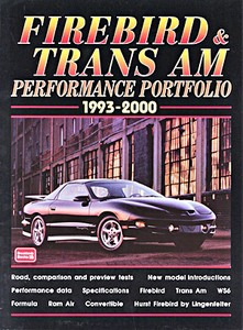 Boek: Firebird & Trans Am (1993-2000) - Brooklands Performance Portfolio