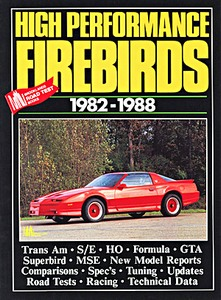 Boek: High Performance Firebirds (1982-1988) - Brooklands Portfolio