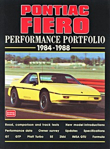 Boek: Pontiac Fiero (1984-1988) - Brooklands Performance Portfolio
