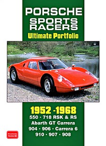 Boek : Porsche Sports Racers (1952-1968) - Brooklands Ultimate Portfolio