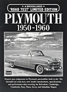 Boek: Plymouth (1950-1960) - Brooklands Portfolio