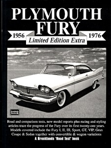 Boek: Plymouth Fury (1956-1976) - Brooklands Portfolio