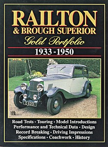 Boek: Railton & Brough Superior (1933-1950) - Brooklands Gold Portfolio