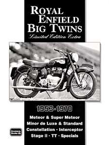 Livre : Royal Enfield Big Twins (1953-1970) - Brooklands Portfolio