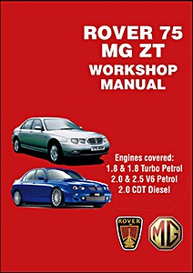 Boek: Rover 75 & MG ZT (1999-2005) - Official Workshop Manual