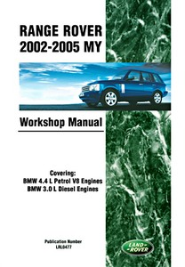 Livre : Range Rover (2002-2005 MY) - Official Workshop Manual