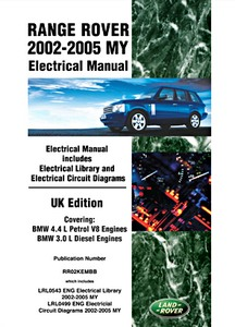 Livre : Range Rover (2002-2005 MY) - Official Electrical Manual