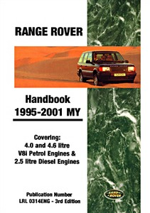 Livre : Range Rover (1995-2001 MY) - Official Owner's Handbook