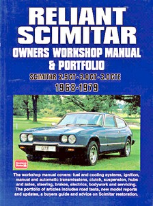 Boek: Reliant Scimitar (1968-1979) & Portfolio - Owners Workshop Manual