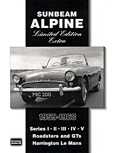 Boek: Sunbeam Alpine (1959-1968) - Brooklands Portfolio