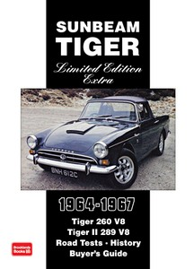 Boek: Sunbeam Tiger 1964-1967 - Brooklands Portfolio