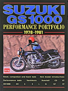Livre : Suzuki GS1000 (1978-1981) - Brooklands Performance Portfolio