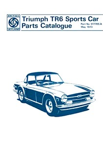 Livre : Triumph TR6 Sports Car (1969-1973) - Spare Parts Catalogue
