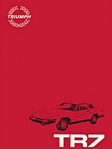 Livre : Triumph TR7 - Official Repair Operation Manual