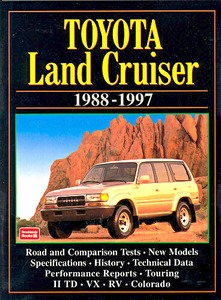 Livre : Toyota Land Cruiser (1988-1997 - Brooklands Portfolio