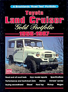 Livre : Toyota Land Cruiser (1956-1987) - Brooklands Gold Portfolio