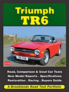 Livre : Triumph TR6 (1969-1976) - Brooklands Road Test Portfolio