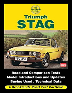 Livre : Triumph Stag (1970-1977) - Brooklands Road Test Portfolio