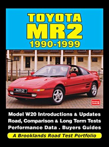 Boek: Toyota MR2 (1990-1999) - Brooklands Road Test Portfolio