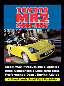Boek: Toyota MR2 (2000-2007) - Brooklands Road Test Portfolio
