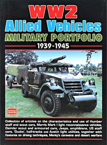 Boek: WW2 Allied Vehicles (1939-1945) - Brooklands Military Portfolio
