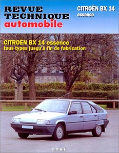 Boek: Citroën BX 14 - essence tous types (1983-1992) - Revue Technique Automobile (RTA)