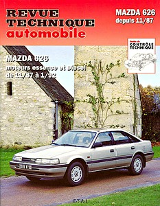 Boek: Mazda 626 - essence et Diesel (11/1987-1/1992) - Revue Technique Automobile (RTA)