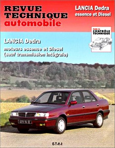 Boek: Lancia Dedra - essence et Diesel (1989-1992) - Revue Technique Automobile (RTA)