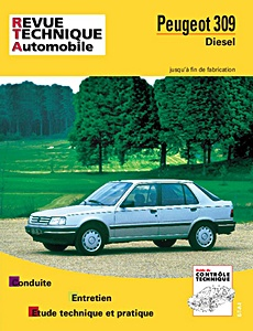 Boek: Peugeot 309 - Diesel et Turbo D (1987-1991) - Revue Technique Automobile (RTA)