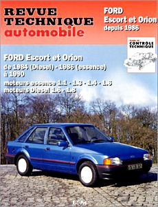 Boek: Ford Escort et Orion - essence (1984-1990) et Diesel (1986-1990) - Revue Technique Automobile (RTA)