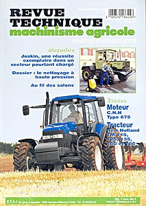 Boek: New Holland TM 115, TM 125, TM 135, TM 150, TM 165 - moteur CNH Type 675 - Revue Technique Machinisme Agricole (RTMA)