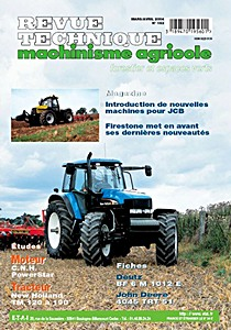 Boek: New Holland TM 120, TM 130, TM 140, TM 155, TM 175, TM 190 - moteurs CNH PowerStar - Revue Technique Machinisme Agricole (RTMA)