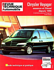 Boek: Chrysler / Dodge / Plymouth Voyager - essence et Turbo Diesel (depuis 1996) - L'Expert automobile