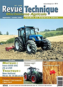Boek: New Holland TN 60, TN 70, TN 75 - DA et SA - moteur Iveco 8035.05 - Revue Technique Machinisme Agricole (RTMA)