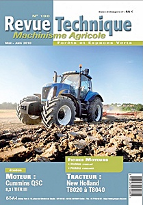 Boek: New Holland T 8020, T 8030, T 8040 - moteur Cummins QSC 8.3 (Tier III) - Revue Technique Machinisme Agricole (RTMA)