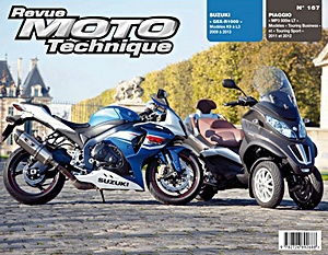 Buch: Suzuki GSX-R 1000 (2009-2013) / Piaggio MP3 500ie LT (2011-2012) - Revue Moto Technique (RMT)