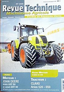 Claas Ares landbouwtrekkers: werkplaatsboeken - onderhoud en