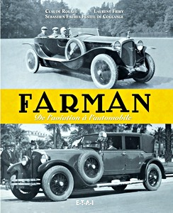 Boek: Farman - de l'aviation à l'automobile