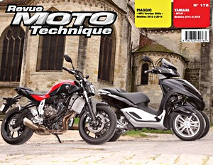 Buch: Piaggio MP3 Yourban 300ie (2012-2014) / Yamaha MT-07 (2014-2015) - Revue Moto Technique (RMT)
