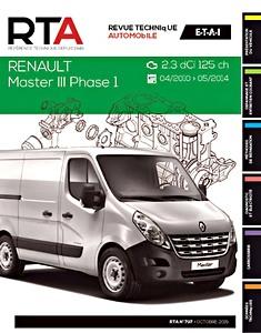 renault master iii 2010 werkplaatshandboeken onderhoud en reparatie 5. Black Bedroom Furniture Sets. Home Design Ideas