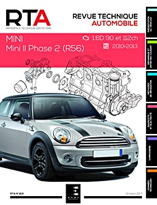 Boek: Mini II - Phase 2 (R56) - Diesel 1.6D (90 et 112 ch) (2010-2013) - Revue Technique Automobile (RTA)