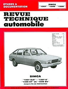 Boek: Simca 1307, 1308, 1309 (1976-1979) - Revue Technique Automobile (RTA)