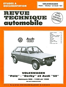 Boek: Audi 50 / VW Polo et Derby (1975-1982) - Revue Technique Automobile (RTA)