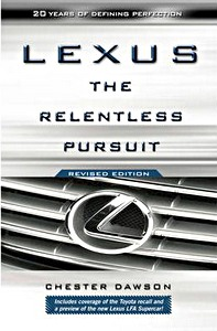 Boek: Lexus - The Relentless Pursuit
