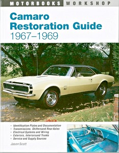 Boek: Camaro Restoration Guide 1967-1969