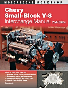 Boek: Chevy Small-block V8 Interchange Manual (2nd edition)