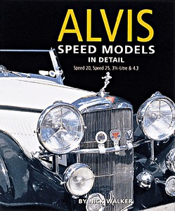Boek: Alvis Speed Models in Detail