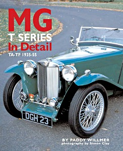 Boek: MG T Series in Detail - TA-TF 1935-1954