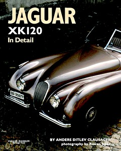 Boek: Jaguar XK120 in Detail